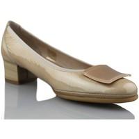 Sapatos Mulher Escarpim Mikaela BAILARINA BEIGE
