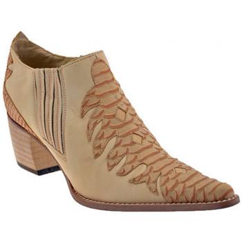 Sapatos Mulher Botins Bocci 1926  Laranja