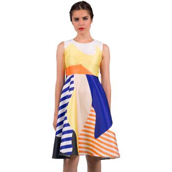 Textil Mulher Vestidos curtos Minueto Vestido Carrie Multicolor