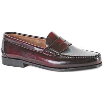 Sapatos Homem Mocassins Castellanos Artesanos  Vermelho