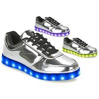 Sapatos Mulher Sapatilhas Wize & Ope THE LIGHT Prata