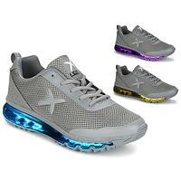 Sapatos Homem Sapatilhas Wize & Ope X-RUN Cinza