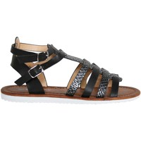 Sapatos Rapariga Sandálias Top Way B715300-B7200 Negro