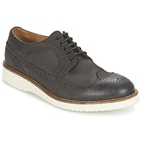 Sapatos Homem Sapatos Selected SHHRUD BROGUE SHOE Cinza