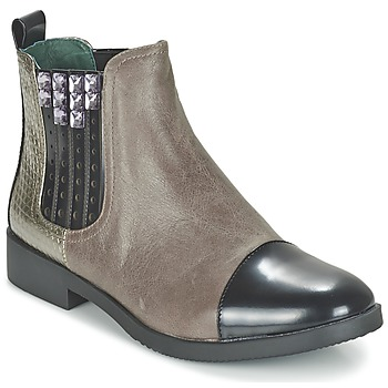 Sapatos Mulher Botas baixas Café Noir BARBERINE Toupeira