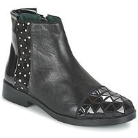 Sapatos Mulher Botas baixas Café Noir BARTHY Preto
