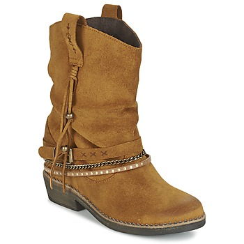 Sapatos Mulher Botas baixas Coolway BIRK Castanho