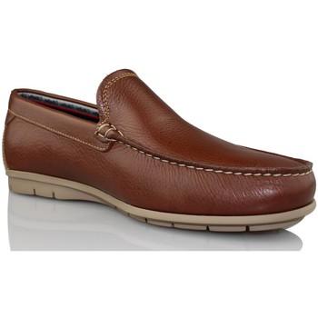 Sapatos Homem Mocassins CallagHan Mocassins LIVRE DO CAVALO CASTANHO