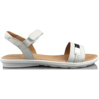 Sapatos Rapariga Sandálias Geox SAND MILK BLANCO