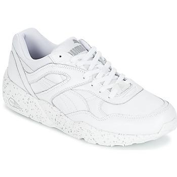 Sapatos Homem Sapatilhas Puma R698 SPECKLE Branco / Prateado