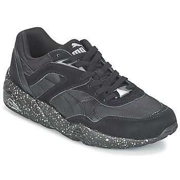 Sapatos Homem Sapatilhas Puma R698 SPECKLE V2 Preto / Prateado