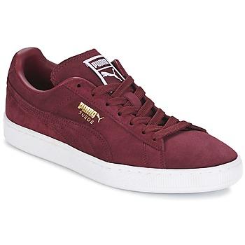 Sapatos Homem Sapatilhas Puma SUEDE CLASSIC + Bordô