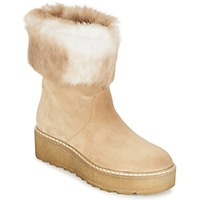 Sapatos Mulher Botas baixas Nome Footwear MOVETTA Bege