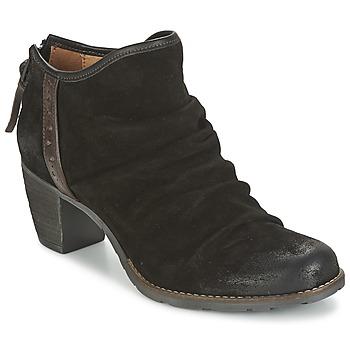 Sapatos Mulher Botas baixas Dkode CARTER Preto