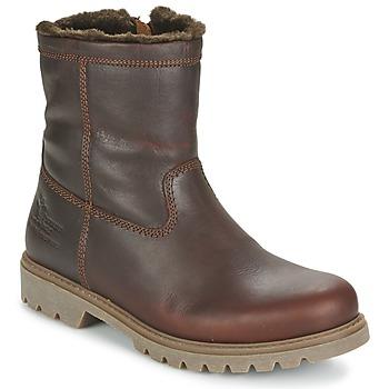 Sapatos Homem Botas baixas Panama Jack FEDRO Castanho