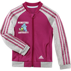 Textil Rapariga Casacos fato de treino adidas Performance Disney monsters university track top Rosa