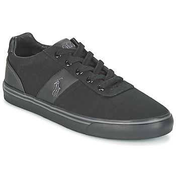 Sapatos Homem Sapatilhas Polo Ralph Lauren HANFORD-NE Preto