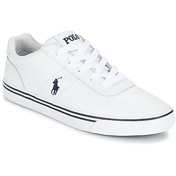 Sapatos Homem Sapatilhas Polo Ralph Lauren HANFORD Branco