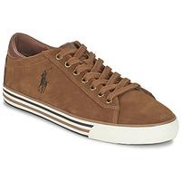Sapatos Homem Sapatilhas Ralph Lauren HARVEY Conhaque
