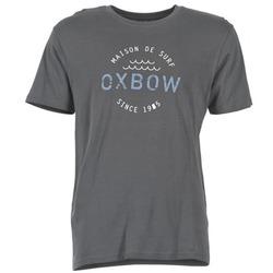 Textil Homem T-Shirt mangas curtas Oxbow TANKER Cinza
