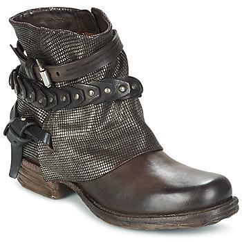 Sapatos Mulher Botas baixas Airstep / A.S.98 SAINT LU Castanho