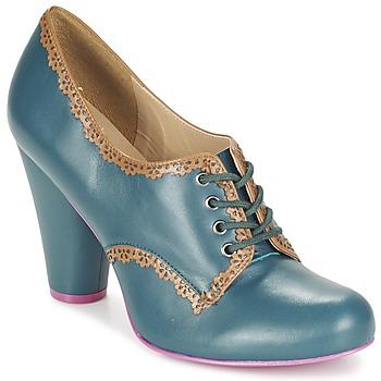 Sapatos Mulher Botas baixas Cristofoli POSS CHAV Azul / Petróleo