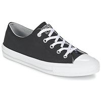 Sapatos Mulher Sapatilhas Converse GEMMA TWILL OX Preto