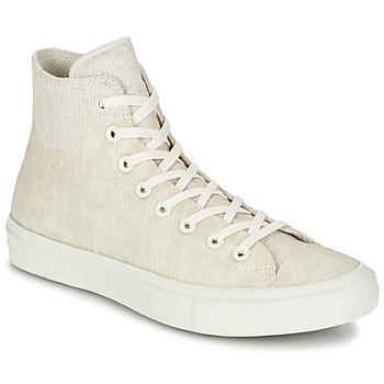 Sapatos Sapatilhas de cano-alto Converse CHUCK TAYLOR ALL STAR II  CAOUTCHOUC HI Bege