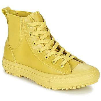 Sapatos Mulher Sapatilhas de cano-alto Converse CHUCK TAYLOR ALL STAR CHELSEA CAOUTCHOUC HI Amarelo / Limão