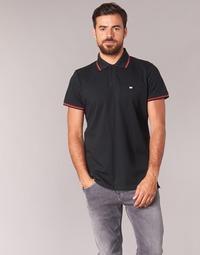 Textil Homem Polos mangas curta Casual Attitude EPIDIN Preto