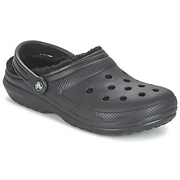 Sapatos Tamancos Crocs CLASSIC LINED CLOG Preto