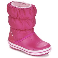 Sapatos Rapariga Botas de neve Crocs WINTER PUFF BOOT KIDS Rosa