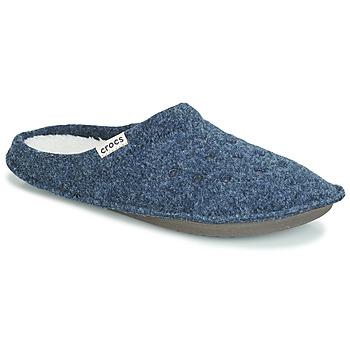 Sapatos Chinelos Crocs CLASSIC SLIPPER Marinho / Vermelho