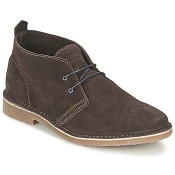 Sapatos Homem Botas baixas Jack & Jones GOBI SUEDE DESERT BOOT Castanho