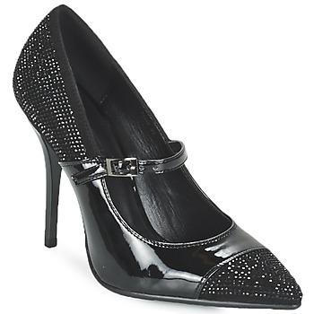 Sapatos Mulher Escarpim Luciano Barachini POUL Preto