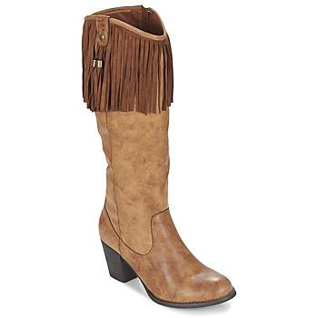 Sapatos Mulher Botas Refresh TRITOU Camel
