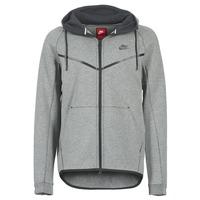 Textil Homem Jaquetas Nike TECH FLEECE WINDRUNNER HOODIE Cinza