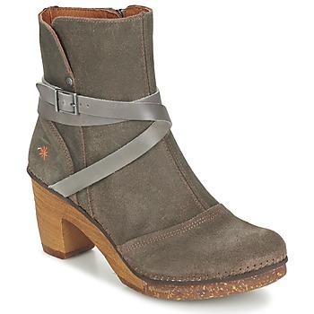 Sapatos Mulher Botins Art AMSTERDAM Cinza
