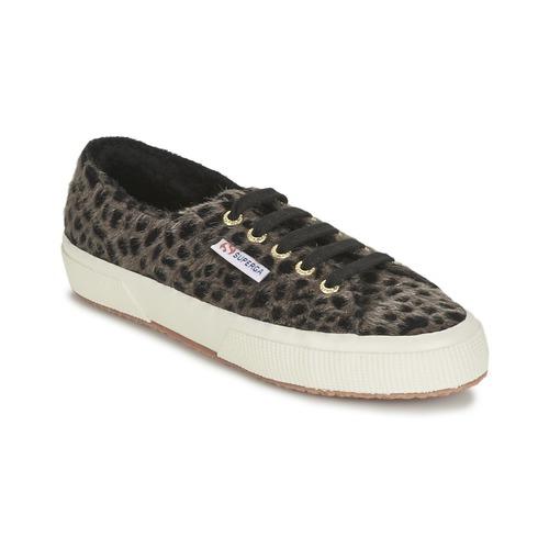 Sapatos Mulher Sapatilhas Superga 2750 LEOPARDHORSEW Leopardo