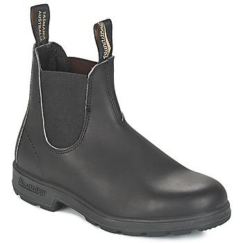 Sapatos Botas baixas Blundstone CLASSIC BOOT Preto / Castanho