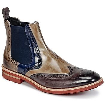 Sapatos Homem Botas baixas Melvin & Hamilton EDDY 13 Castanho / Azul