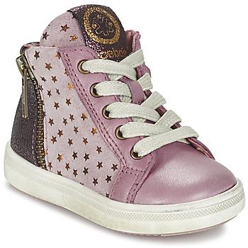 Sapatos Rapariga Sapatilhas de cano-alto Acebo's MARLIE Rosa
