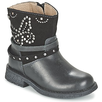 Sapatos Rapariga Botas baixas Garvalin GENILA Preto