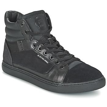 Sapatos Homem Sapatilhas de cano-alto G-Star Raw NEW AUGUR Preto