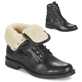 Sapatos Mulher Botas baixas Mustang SABORA Preto