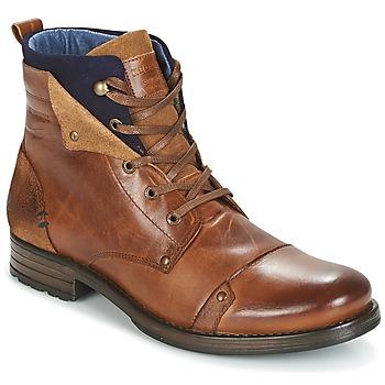 Sapatos Homem Botas baixas Redskins YEDES Conhaque