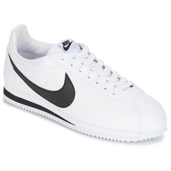 Sapatos Homem Sapatilhas Nike CLASSIC CORTEZ LEATHER Branco / Preto