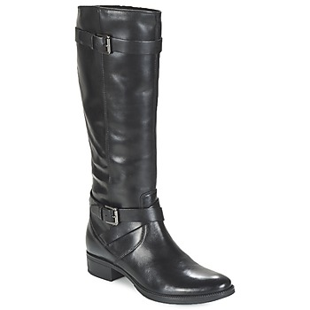 Sapatos Mulher Botas Geox MENDI ST D Preto