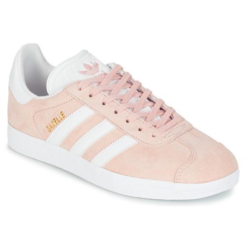Sapatos Mulher Sapatilhas adidas Originals GAZELLE Rosa
