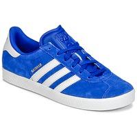 Sapatos Rapaz Sapatilhas adidas Originals GAZELLE 2 J Azul